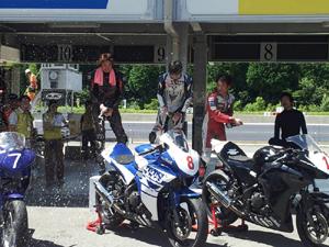 8月5日鈴鹿ツインサーキットCBR250Rカップ第2戦