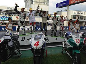 7月27日筑波選手権CBR250Rドリームカップ第3戦